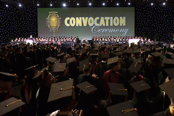 ACPs Convocation is a capstone of achievement for many attendees of Internal Medicine Meeting 2018 Photo by Kevin Berne