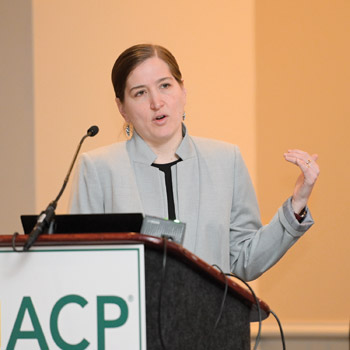 Ideally palliative care should be integrated into treatment said Rebecca N Hutchinson MD FACP Photo by Kevin Berne